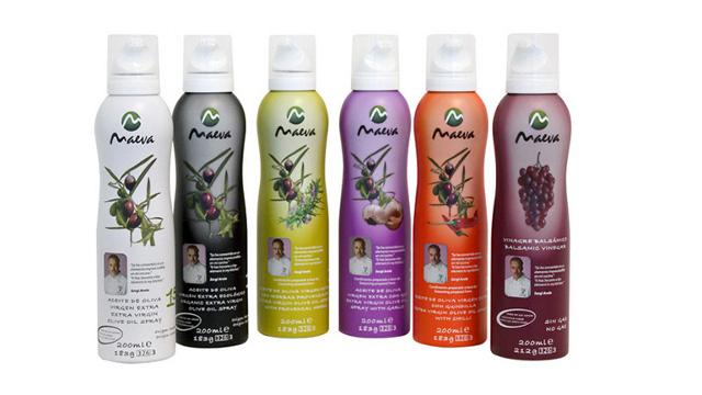 Nouveau Packaging Spray Huile d'olive