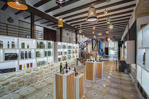 Boutique Musée d'huile d'olive à Ùbeda (jaén)