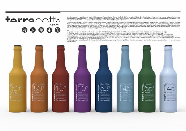 bouteilles terra cotta beer
