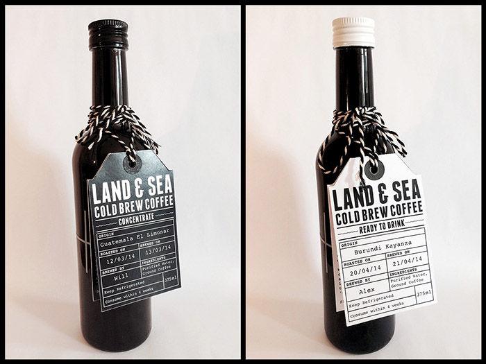 bouteille neutre, tout sur l'étiquette