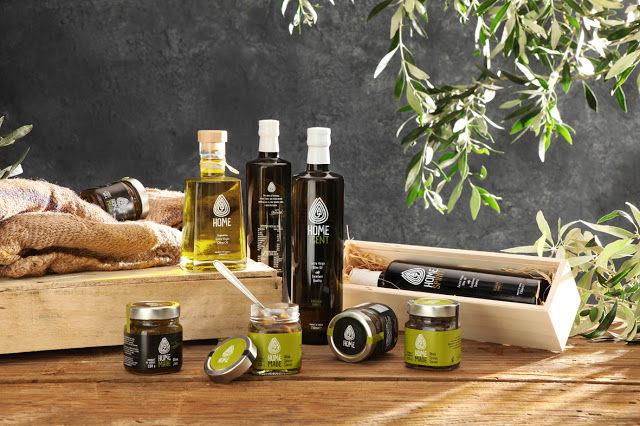 charte graphique : déclinaison marque huile d'olive