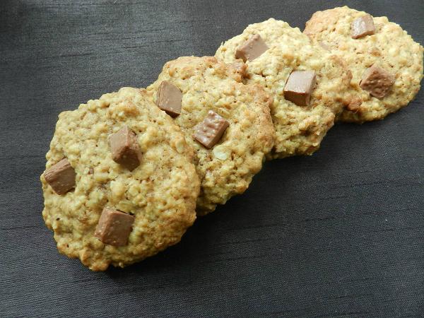 cookies flocons d'avoine huile d'olive
