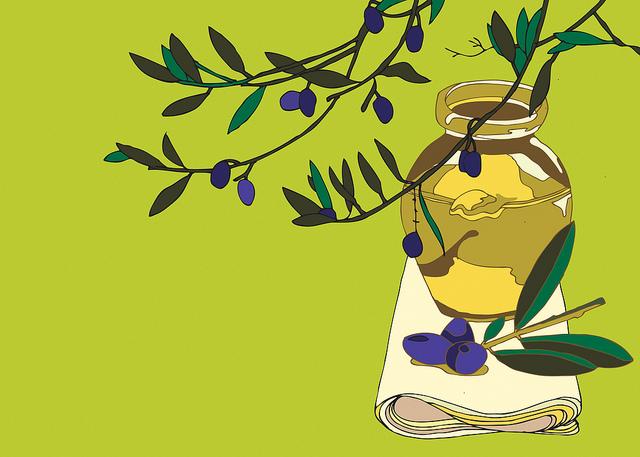 huile d'olive olive olivier