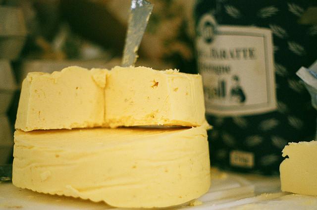 le beurre mauvais pour notre santé