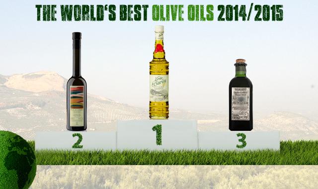 palmarès meilleures huiles d'olive du monde