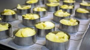 pommes de terre et huile d'olive