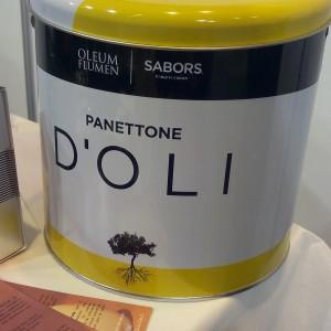 panettone à l'huile d'olive