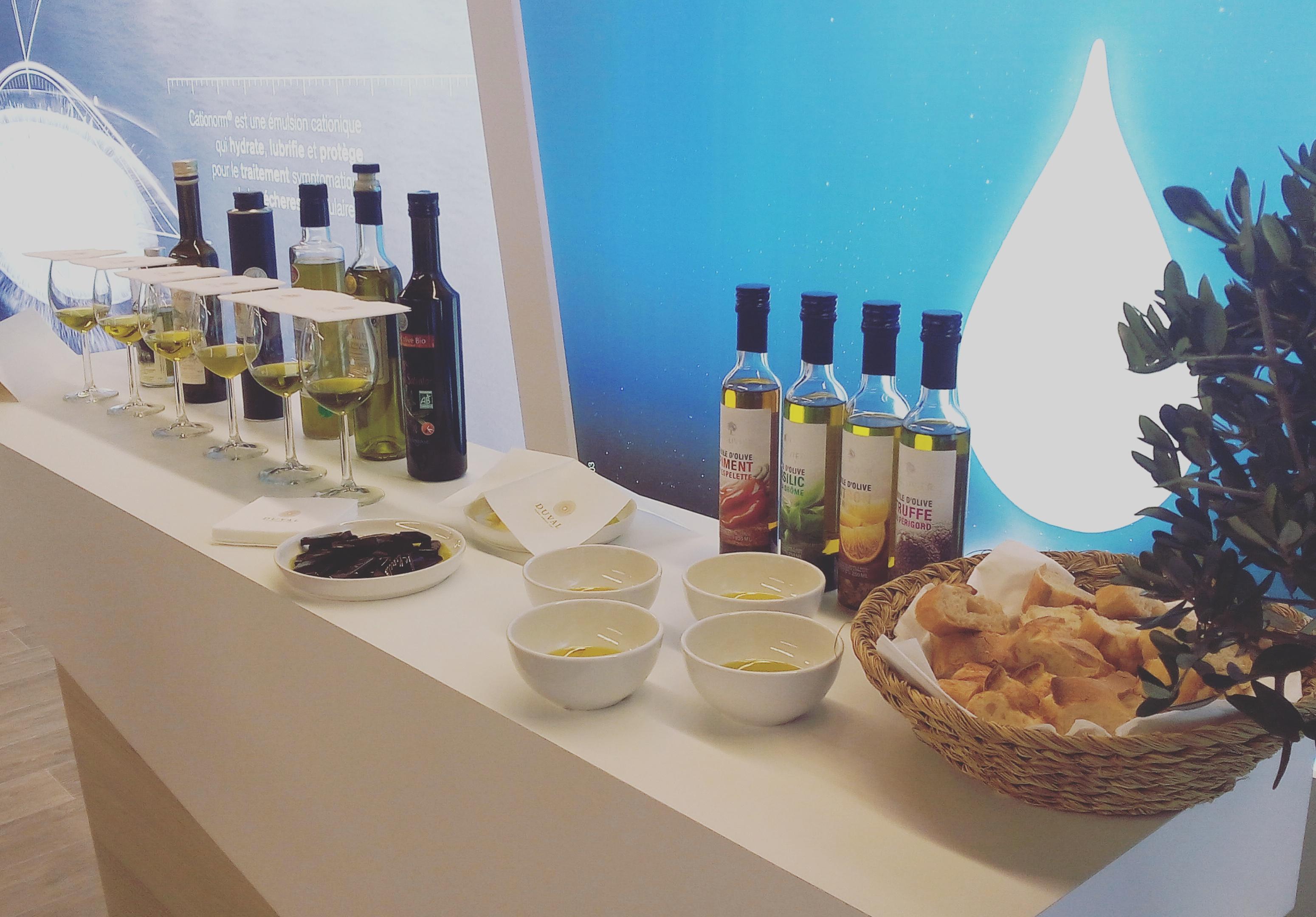 bar à huiles d'olive