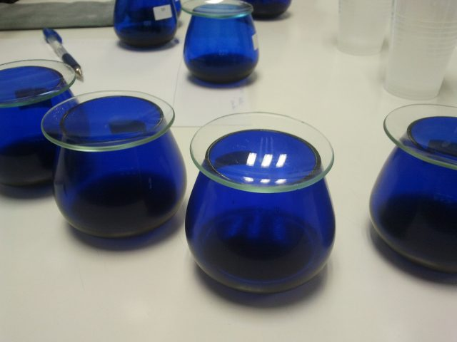 verres degustation officielle huile d'olive