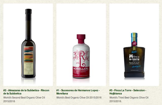 meilleure huiles d'olive bio 2016
