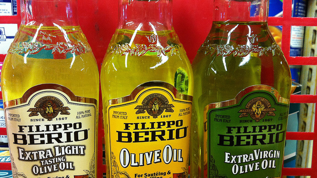 contresens huile d'olive