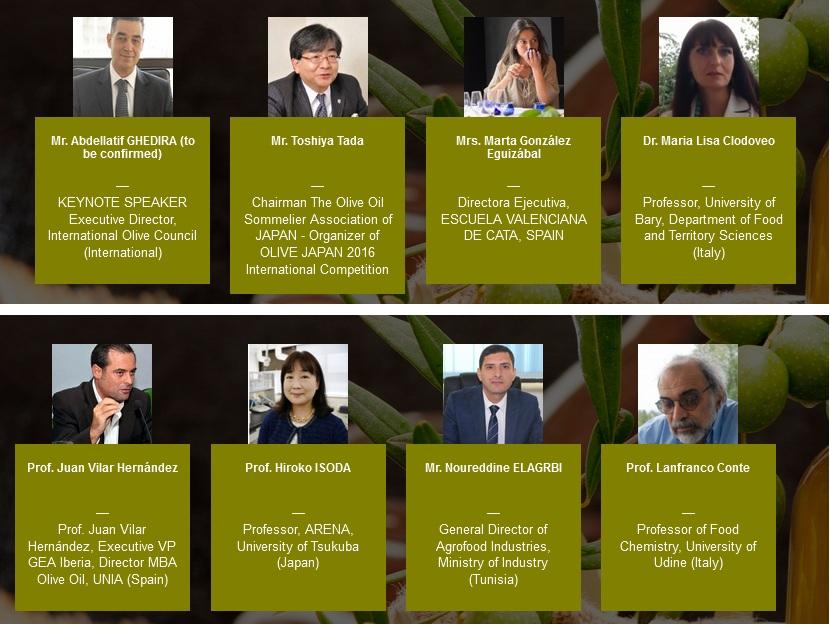 conférence scientifiques huiles d'olive keyspeakers