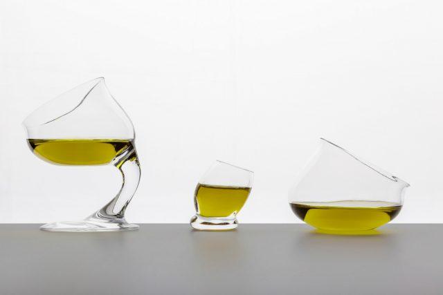 innovation nouveaux ustensiles de dégustation d'huile d'olive