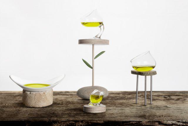 innovations nouveaux verres à dégustation d'huiles d'olive