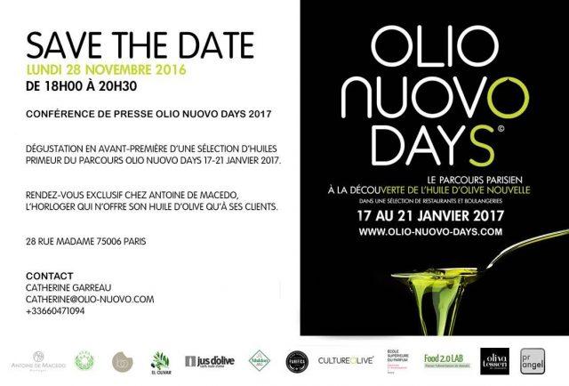 parcours parisien huile d'olive nouvelle 2017
