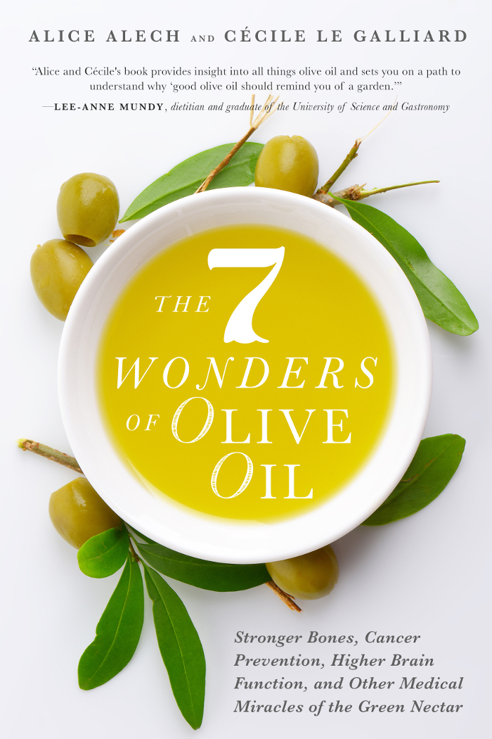 livre the seven wonders of olive oil