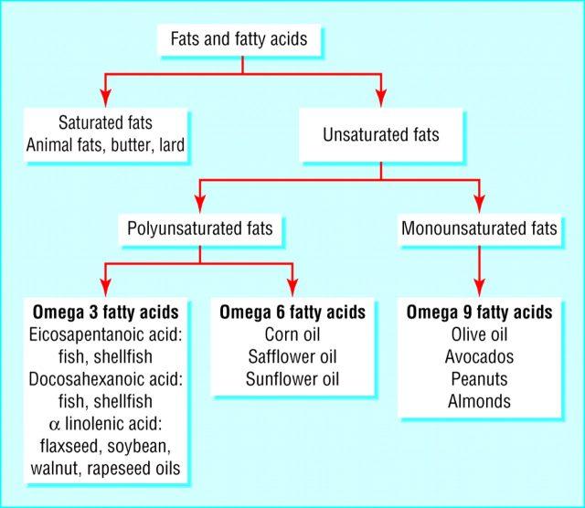choisir les bons acides gras