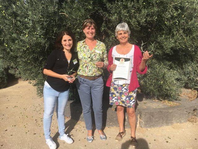 équipe gagnate championnat huile d'olive 2017 france