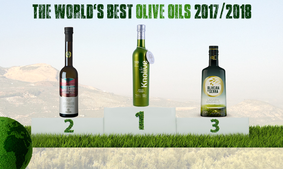 RANKING OF THE WORLD'S BEST OLIVE OILS 2017/2018